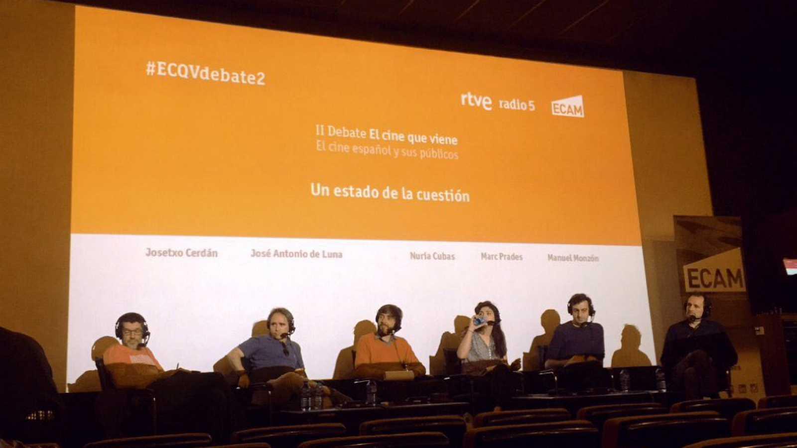 El cine que viene - II Debate 'El cine que viene. El cine español y sus públicos' - Escuchar ahora