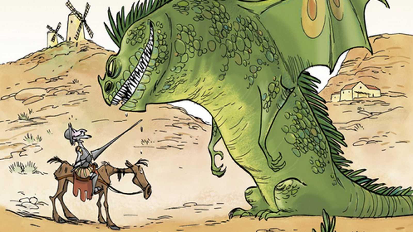 Punto de enlace - Don Quijote lucha contra el dragón - 15/06/16 - escuchar ahora