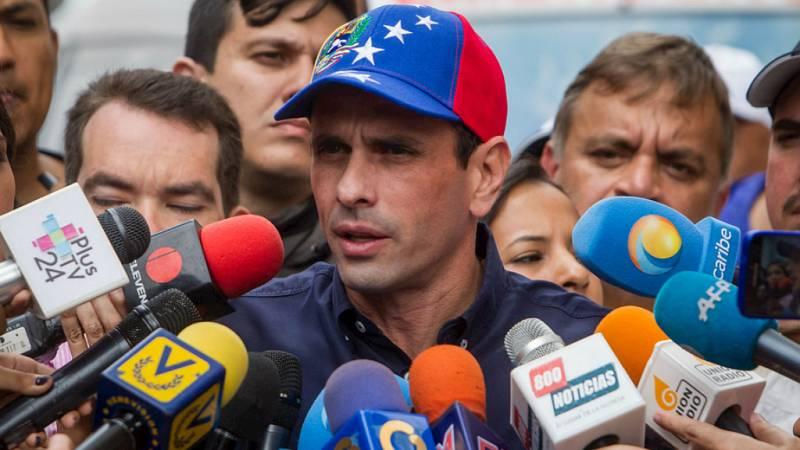 Las mañanas de RNE - Capriles niega que exista diálogo con el Gobierno de Venezuela - Escuchar ahora