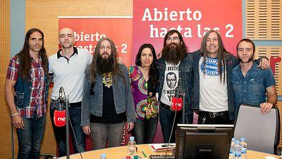 """Abierto hasta las 2 - Corizonas presenta un disco """"optimista y constructivo"""": Nueva dimensión vital - 10/07/16 - escuchar ahora"""