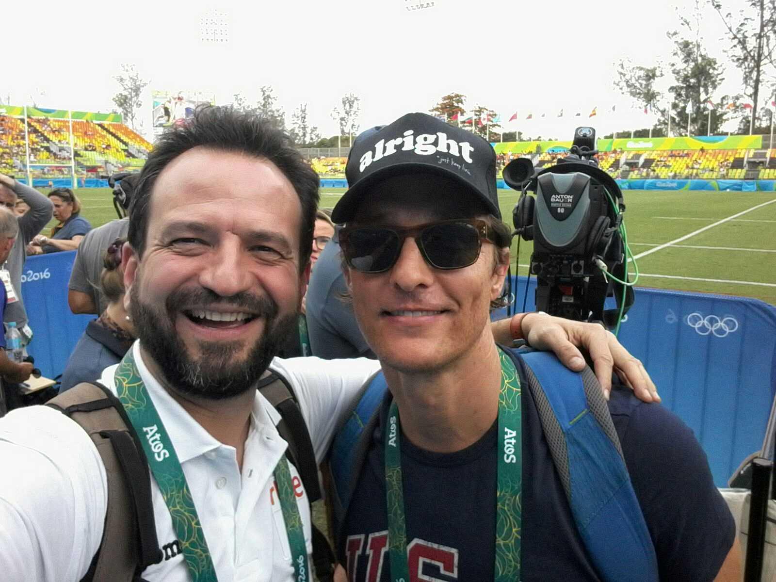 Juegos Olímpicos Río 2016 - Entrevista Matthew McConaughey