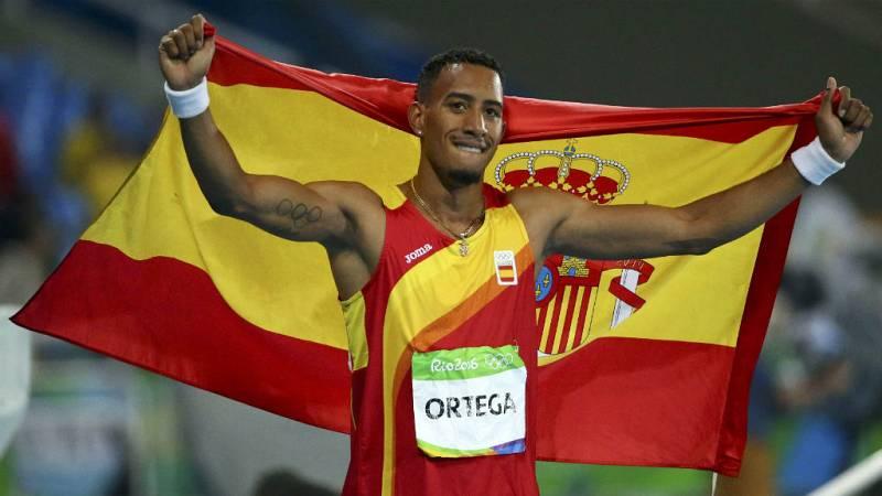 Boletines RNE - Río 2016 - Orlando Ortega, subcampeón de 110 metros vallas en Río - 17/08/16 - Escuchar ahora