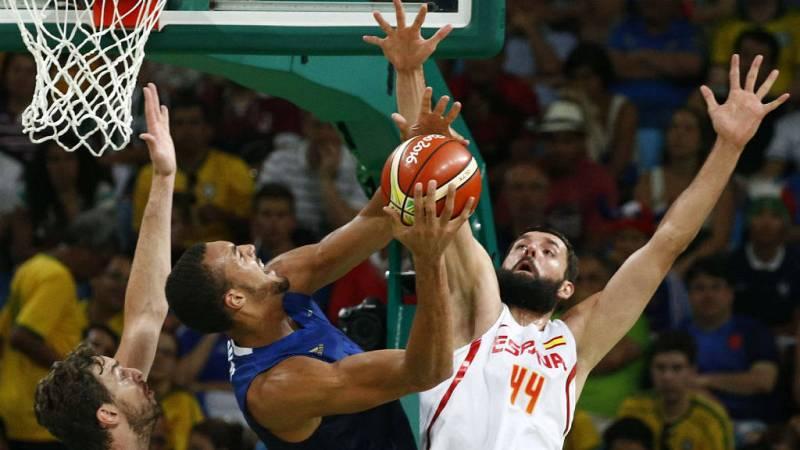 Boletines RNE - Río 2016 - España se medirá en semifinales con EE.UU. - 18/08/16 - Escuchar ahora