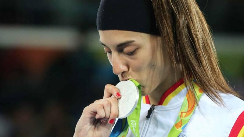 Boletines RNE - Río 2016 - Eva Calvo tras ganar la plata en Taekwondo reconoce una cierta tristeza - 19/08/16 - Escuchar ahora