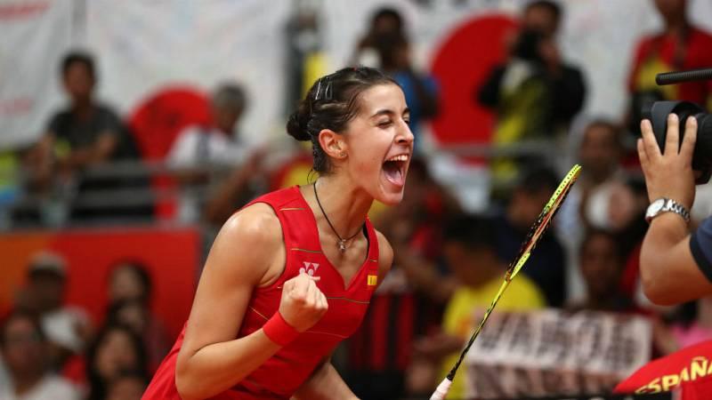 Boletines RNE - Río 2016 - Carolina Marín celebra su victoria ante la vigente campeona olímpica - 19/08/16 - Escuchar ahora