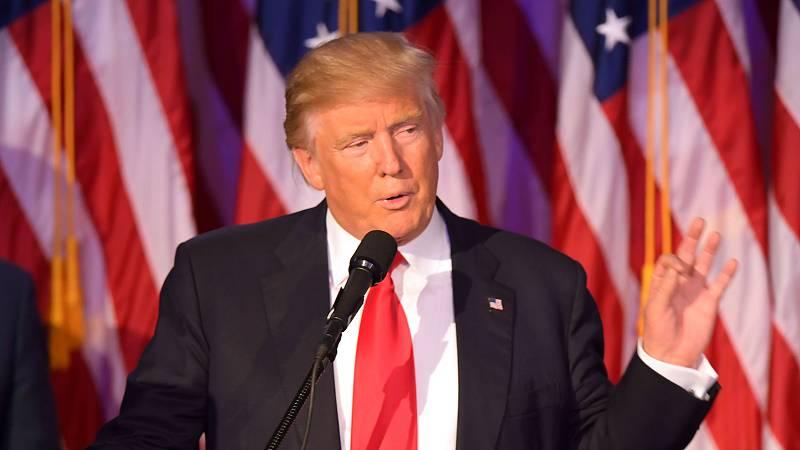 Las mañanas de RNE - Donald Trump llama a la unidad de todos los estadounidenses en su primer discurso como presidente - Escuchar ahora