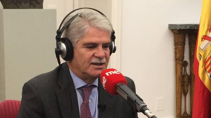 """Las mañanas de RNE - Alfonso Dastis, ministro de Exteriores: """"Esperamos profundizar y consolidar las relaciones con EE.UU."""" - Escuchar ahora"""