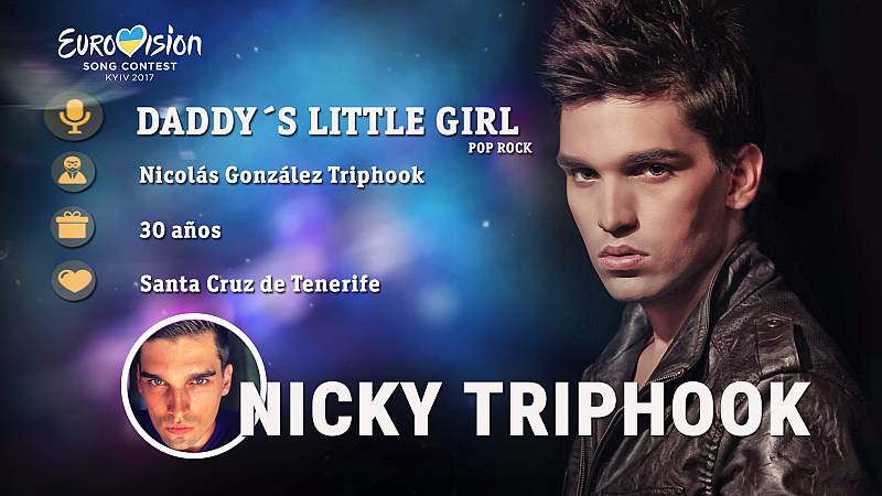 "Nicky Triphook canta ""Daddy's Little Girl"""