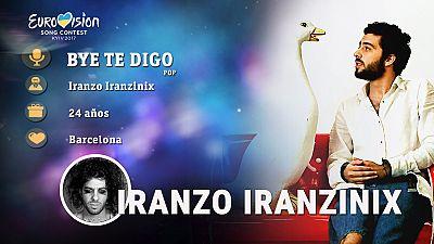 """Iranzo Iranzinix canta """"Bye te digo"""""""