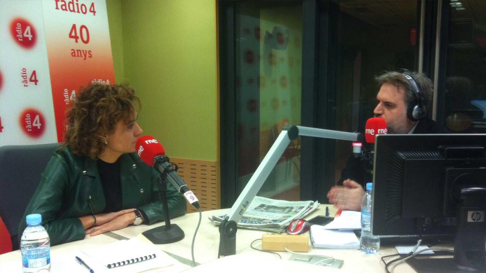 El matí a Ràdio 4 - Entrevistem Dolors Montserrat, ministra de Sanitat, Serveis Socials i Igualtat