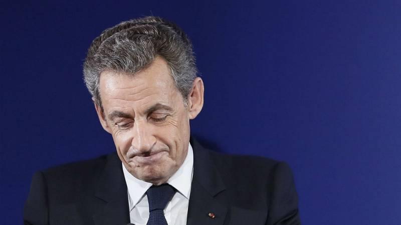 Boletines RNE - Sarkozy irá a juicio por presunta financiación irregular de la campaña electoral de 2012 - 07/02/17 - Escuchar ahora