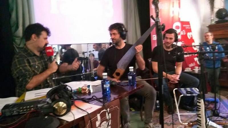 Hoy empieza todo con Ángel Carmona - Desde el festival de instrumentos e intérpretes insólitos de Burgos - 16/02/17 - escuchar ahora