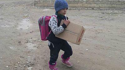 Por la educación - Vuelta al cole en Alepo - 22/02/17 - Escuchar ahora