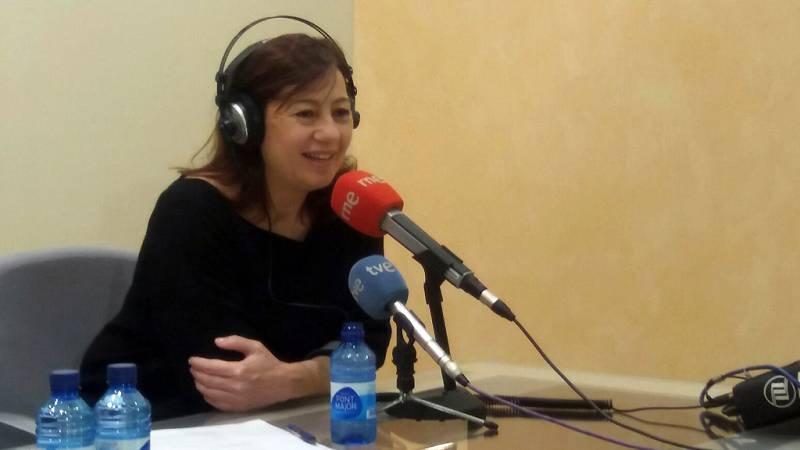 Las mañanas de RNE - Francina Armengol aboga por unir las candidaturas de Patxi López y Pedro Sánchez - Escuchar ahora
