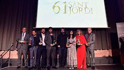 Boletines RNE - RNE celebra la gala de entrega de la 61ª edición de los Premios Sant Jordi de Cinematografía - Escuchar ahora