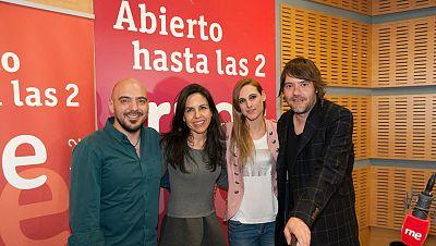 Abierto hasta las 2 - Conchita, Luis Ramiro y Pablo Cebrián, trío de ases - 07/05/17 - escuchar ahora