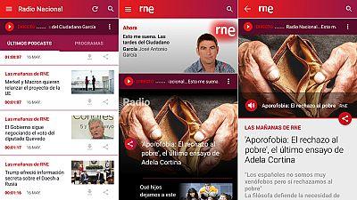 Las mañanas de RNE - La nueva 'app' de RNE: toda la emisión en un solo click - Escuchar ahora