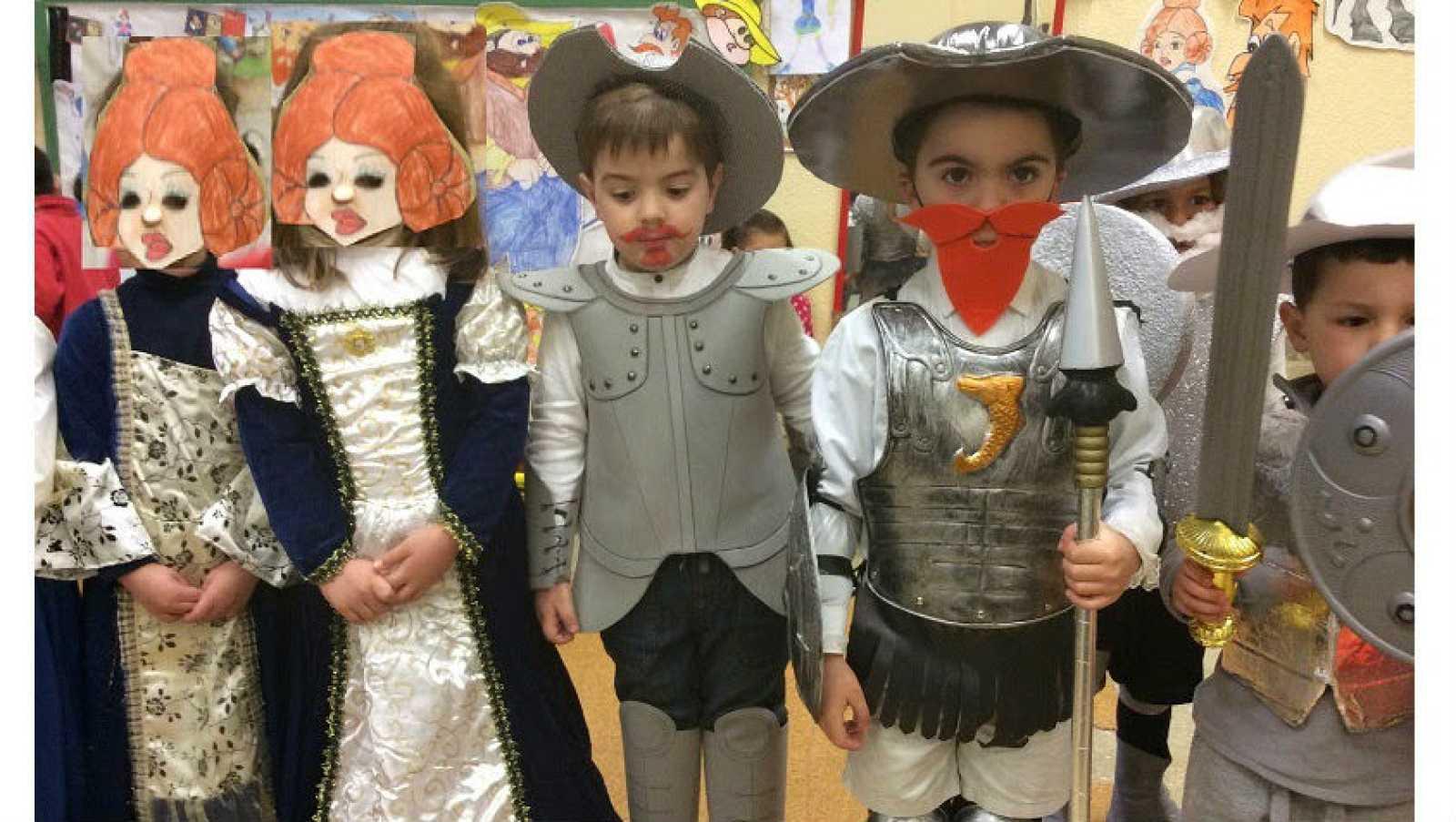 Minutos cervantinos - El Quijote en el escuela - 20/05/17 - Escuchar ahora