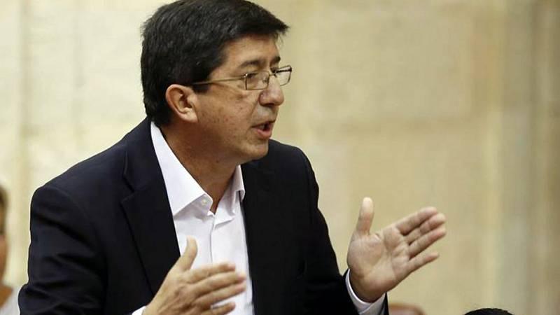 """Las mañanas de RNE - Juan Marín (Cs Andalucía): """"Esperamos que Díaz se centre ahora en su labor de Presidenta de la Comunidad"""" - Escuchar ahora"""