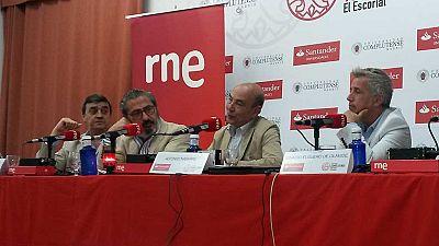 Las cuñas de RNE - RNE en los cursos de verano de la UCM en El Escorial - Escuchar ahora