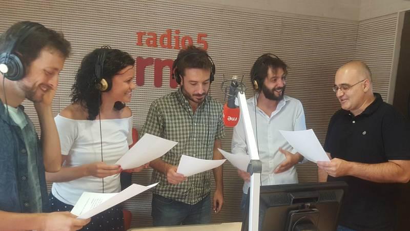 La sala - 'La línea del vértigo', una ficción sonora de Juan Morello y Manuel López del Cerro - 01/09/17 - Escuchar ahora
