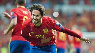 Tablero deportivo - España 3 Italia 0 (partido completo) - Escuchar ahora