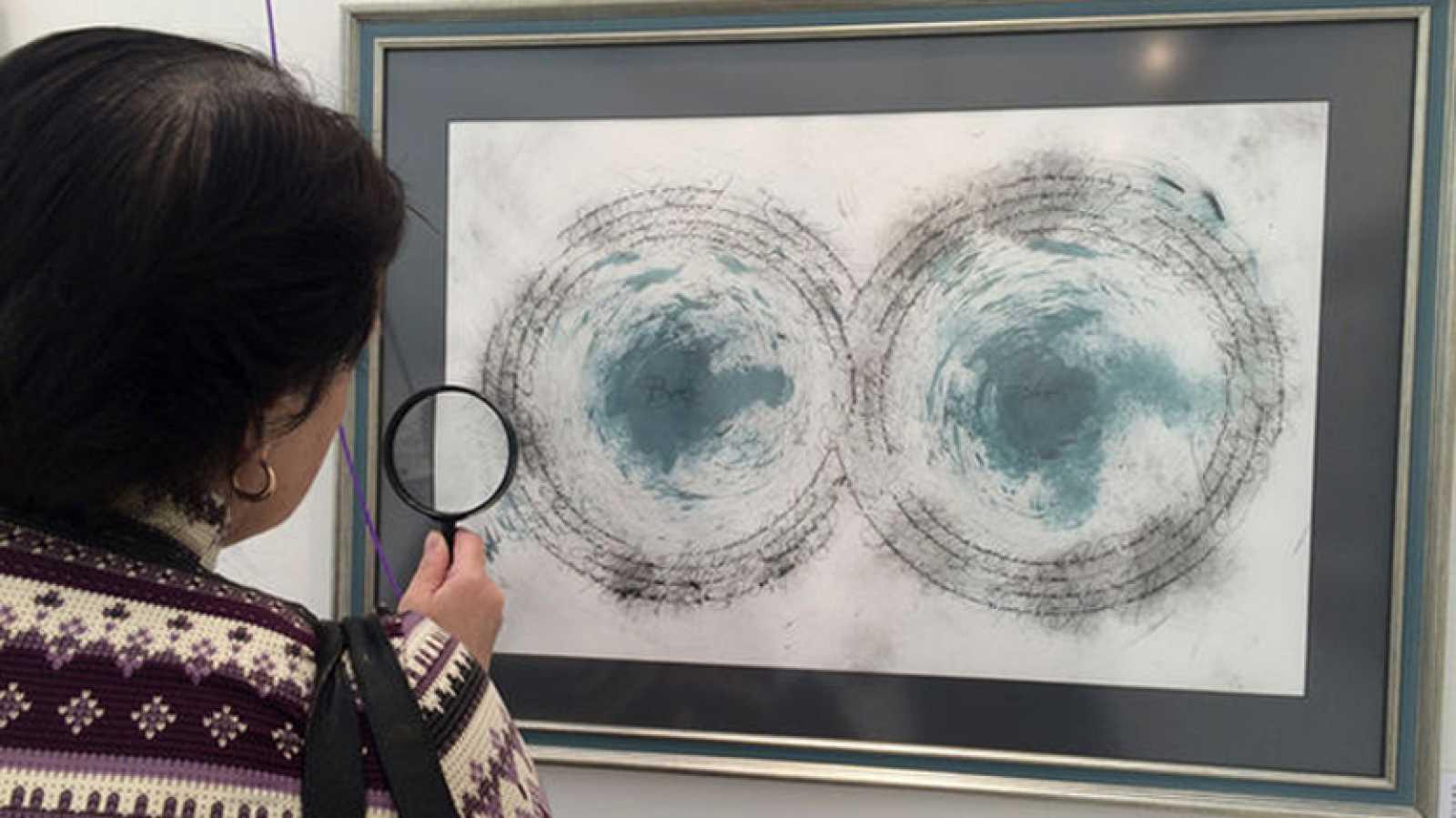 Salimos por el mundo - El calígrafo español Jorge Regueira exhibe su arte en Moscú - 13/09/17 - escuchar ahora