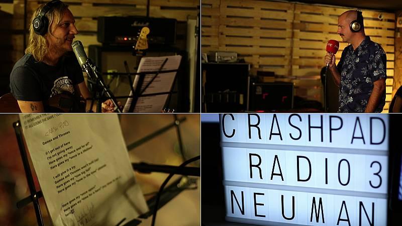 Neuman nos presenta 'Crashpad' desde su estudio en Granada
