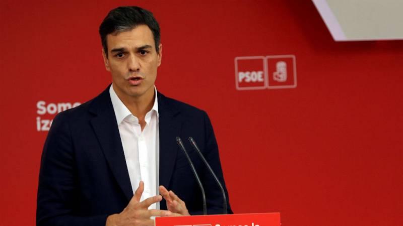 Pedro Sánchez acuerda con Rajoy reformar la Constitución - Escuchar ahora