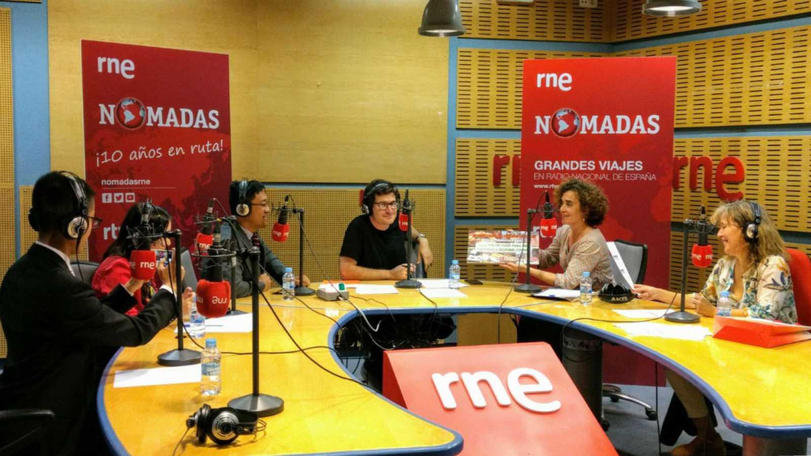 Nómadas - Concurso de diarios de viaje 2017 - 15/10/17 - escuchar ahora