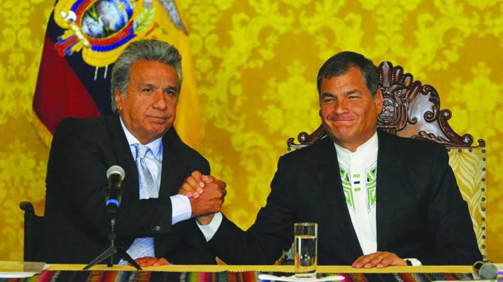 América hoy - Conflicto político en Ecuador - 18/10/17 - escuchar ahora