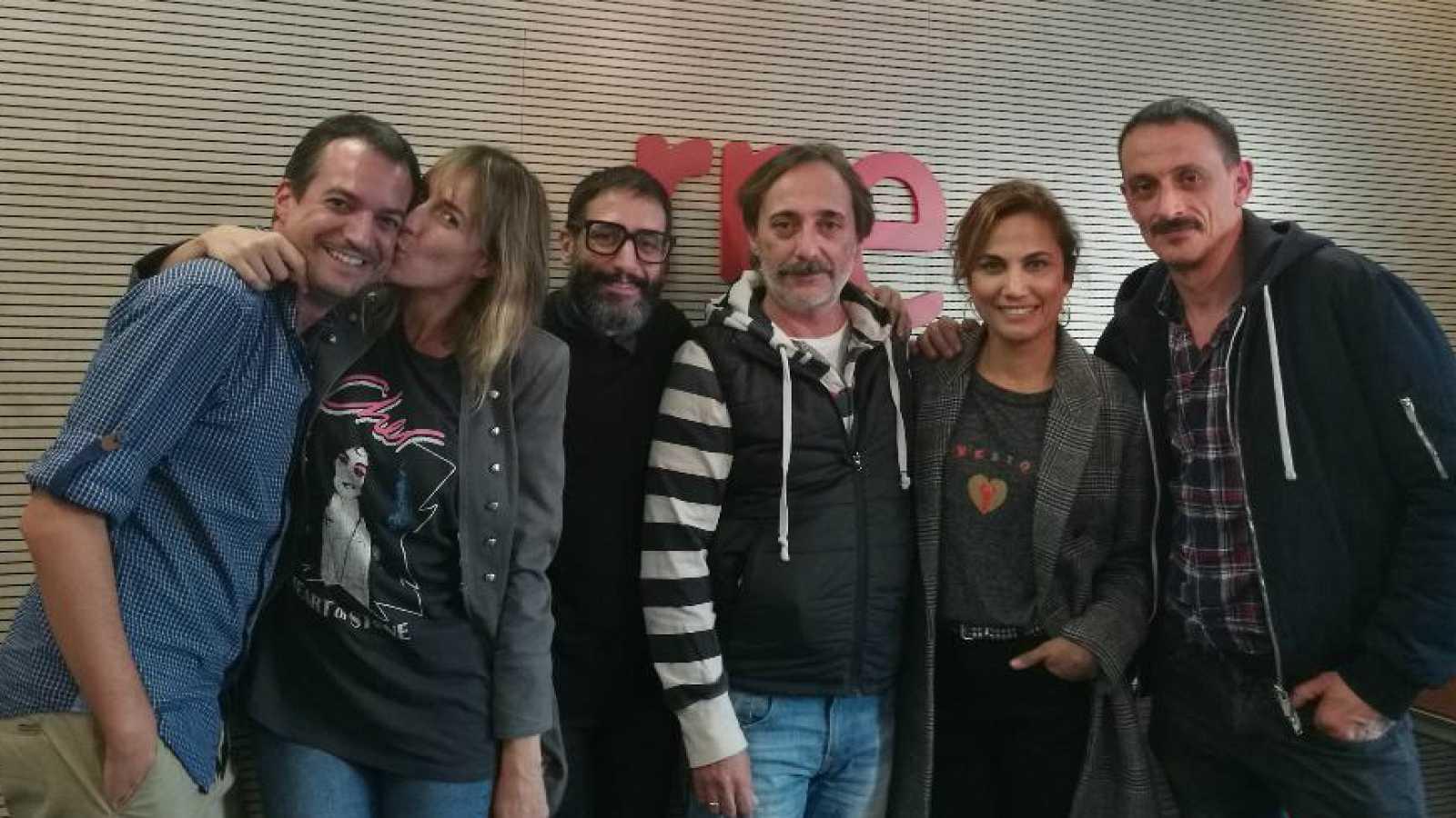 La sala - Toni Acosta, Cristina Alcázar, Fran Boira, Javi Coll y José Martret - 25/10/17 - Escuchar ahora