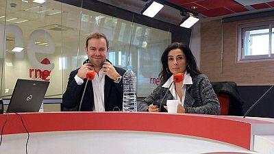 Las mañanas de RNE - Javier Sierra y Cristina López Barrio, ganador y finalista del Premio Planeta 2017 - 10/11/17 - Escuchar ahora