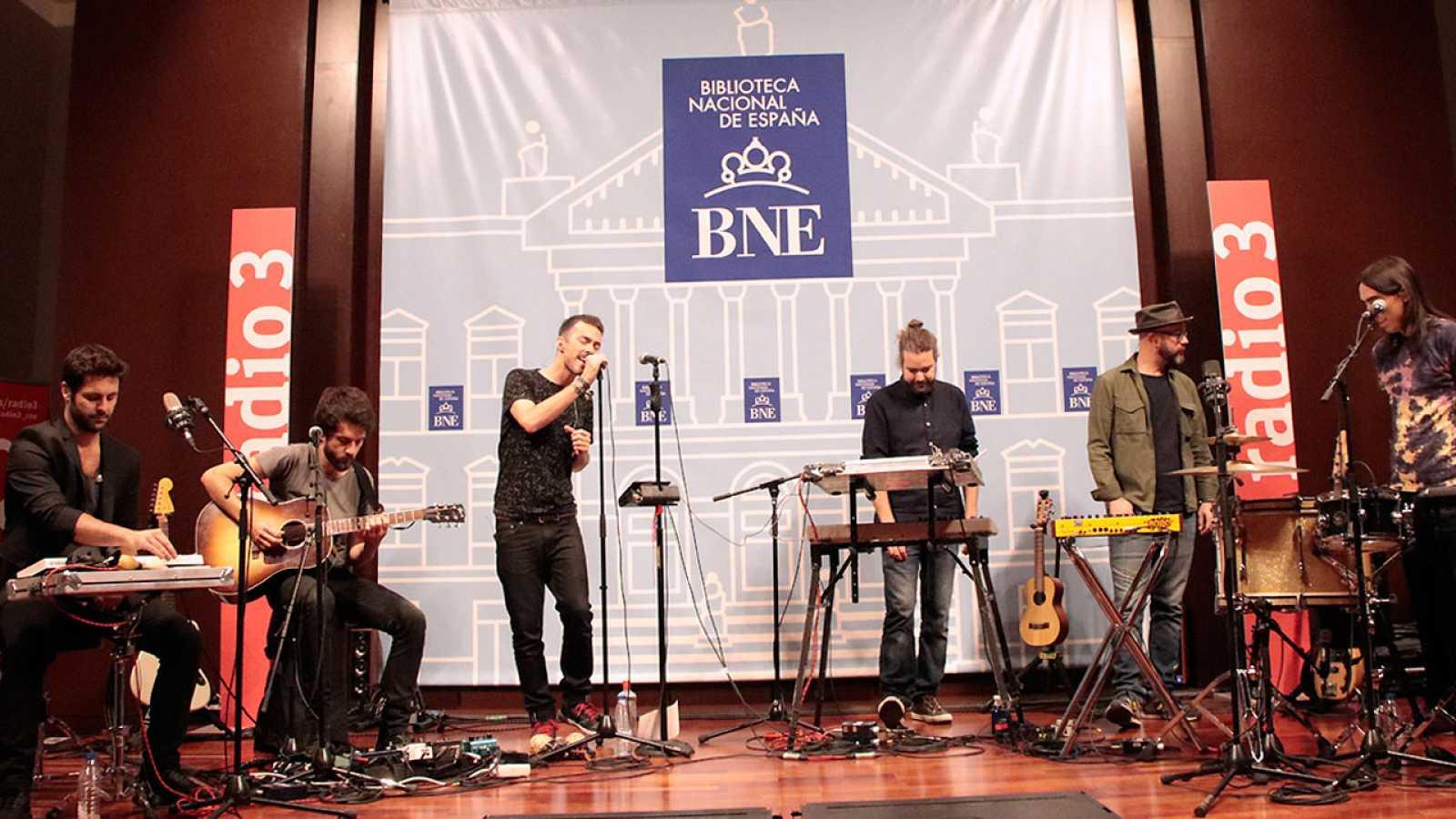 Especiales Radio 3 - Especial Vetusta Morla en la Biblioteca Nacional - 10/11/17 - escuchar ahora