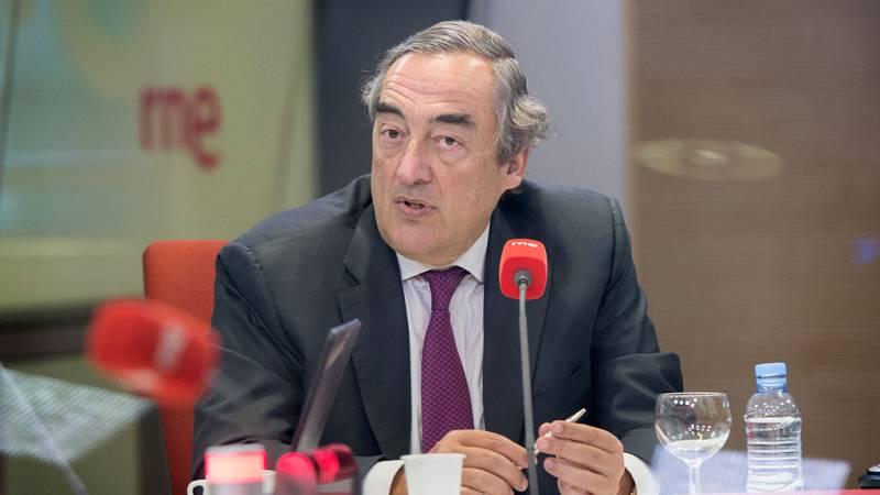 """Las mañanas de RNE - Juan Rosell (CEOE) cree que diciembre será """"muy bueno"""" para el empleo - Escuchar ahora"""