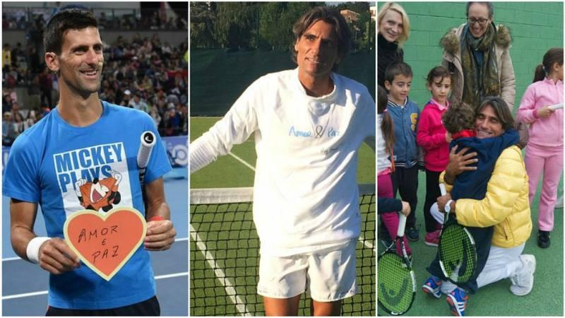 """De lo más natural - Pepe Imaz, el español que ha mostrado a Djokovic el camino del """"amor y la paz"""" - 07/01/18 - escuchar ahora"""