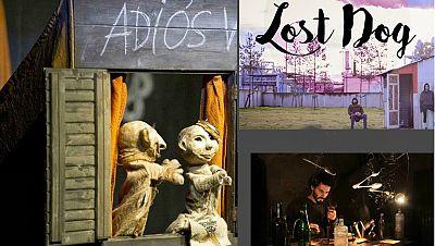 La sala - Manipulando objetos y títeres con las compañías Cal y canto y Mimaia y el 35ª Festival de Teatro de Málaga - 13/01/18 - escuchar ahora