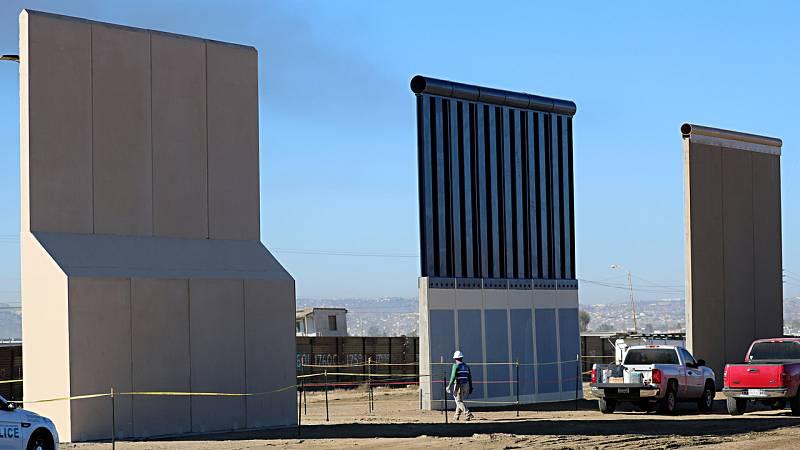 El muro de Trump empieza a ser una realidad, tanto física como psicológica