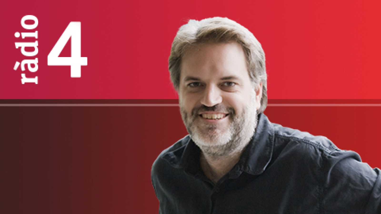 El matí a Ràdio 4 - La MIrada - Connexió Ferran Grau - Literatura