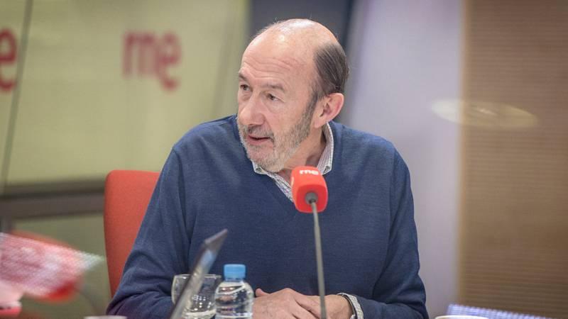 """Las mañanas de RNE - Rubalcaba: """"Puigdemont no será el nuevo president"""" - Escuchar ahora"""