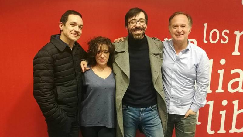 La sala - Israel Elejalde, Luis Bermejo, Luis Luque (e Irene Escolar y Pablo Messiez), candidatos al Premio Valle-Inclán de Teatro - 23/02/18 - Escuchar ahora