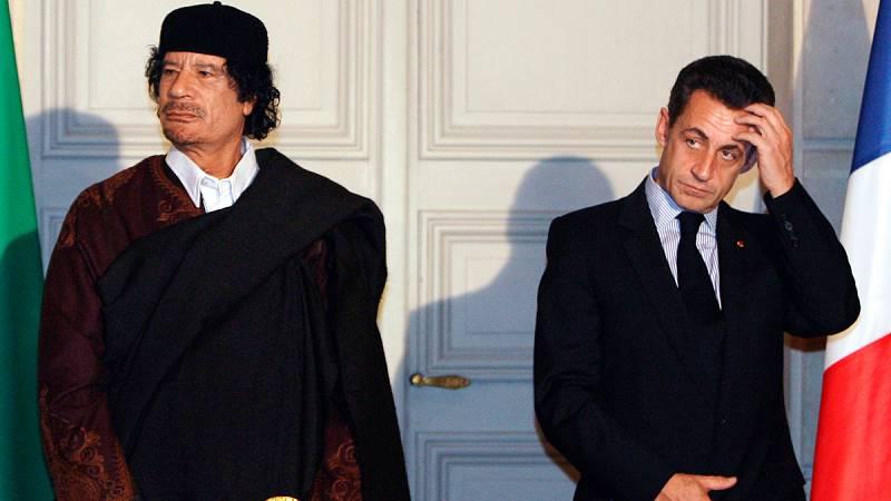 Las mañanas de RNE - Sarkozy declara bajo arresto por la financiación de la campaña de 2007 - Escuchar ahora