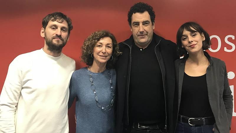 Daniel Calparsoro, Raúl Arévalo y Belén Cuesta nos dan 'El aviso' - escuchar ahora