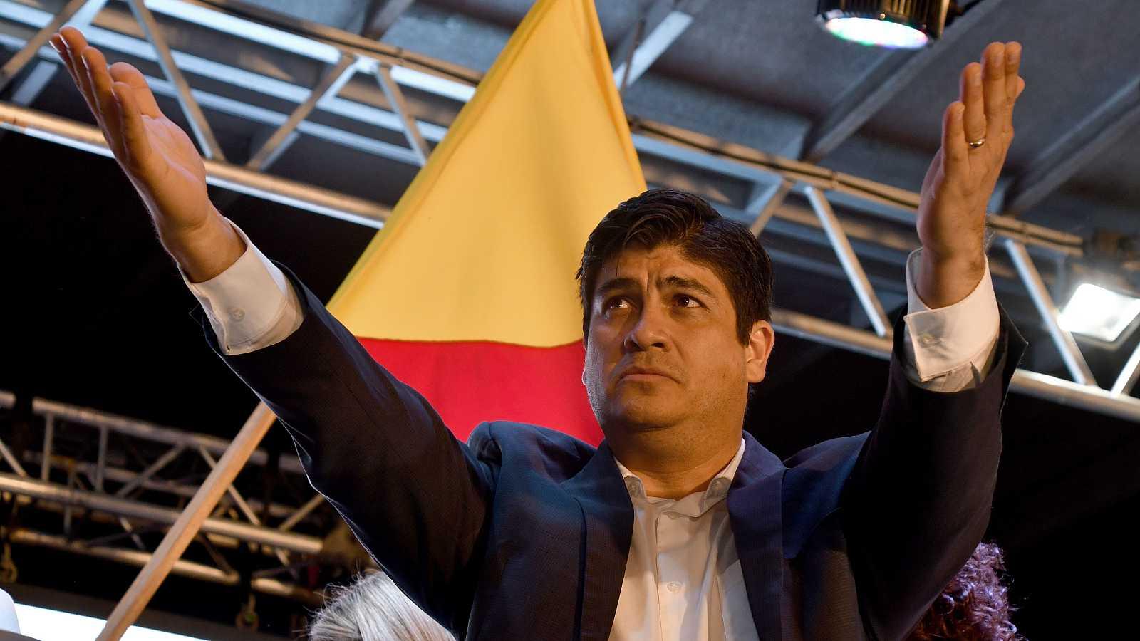 América hoy - Carlos Alvarado, próximo presidente de Costa Rica - 03/04/18 - escuchar ahora