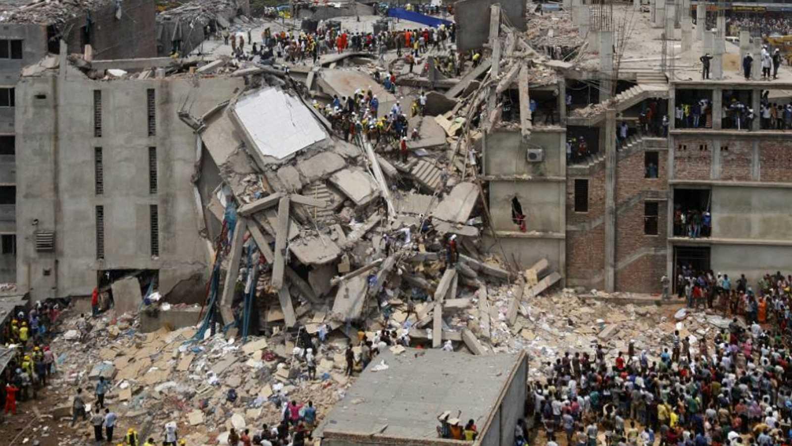 Espacio para la responsabilidad - Cinco años después del Rana Plaza - 24/04/18 - Escuchar ahora