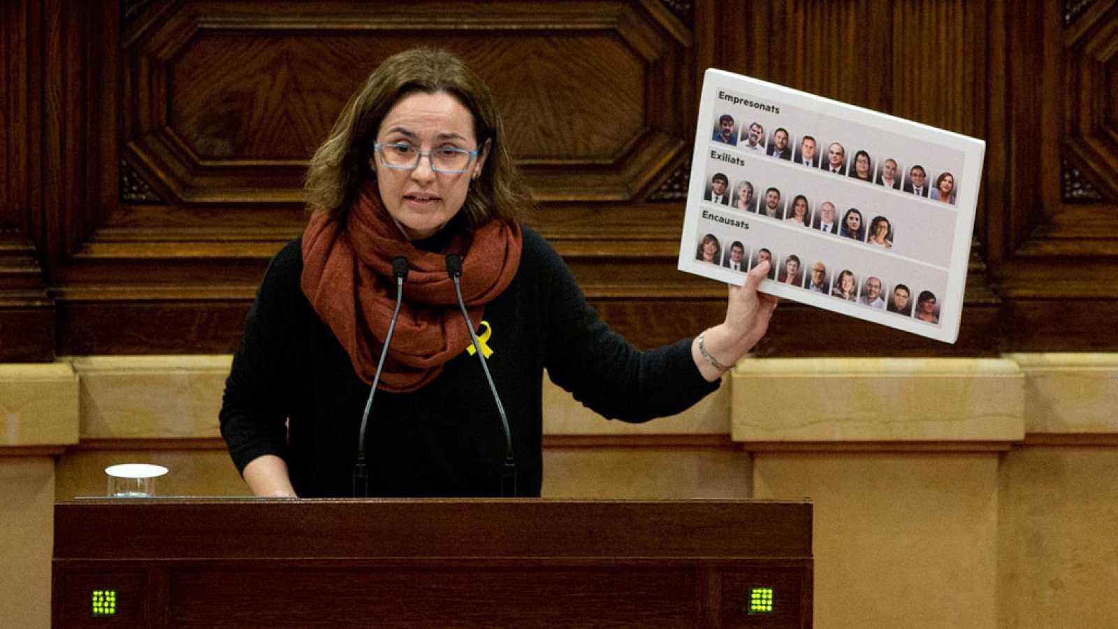 """Las mañanas de RNE - Anna Caula (ERC) cree que la investidura de Torra es """"un paso más para seguir construyendo país"""" - Escuchar ahora"""