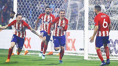 Tablero deportivo - Los goles del Olympique de Marsella 0 Atlético de Madrid 3 - Escuchar ahora