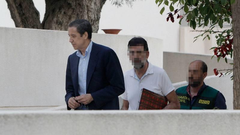 Boletines RNE - Zaplana, trasladado a Madrid para efectuar nuevos registros en su casa y oficina - 23/05/18 - Escuchar ahora