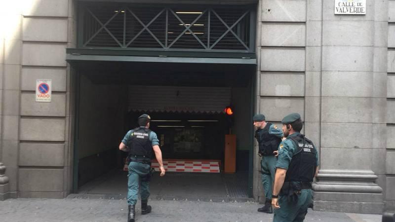 Boletines RNE - Zaplana: la Guardia Civil registra el despacho en Telefónica en la madrileña Gran Vía - Escuchar ahora