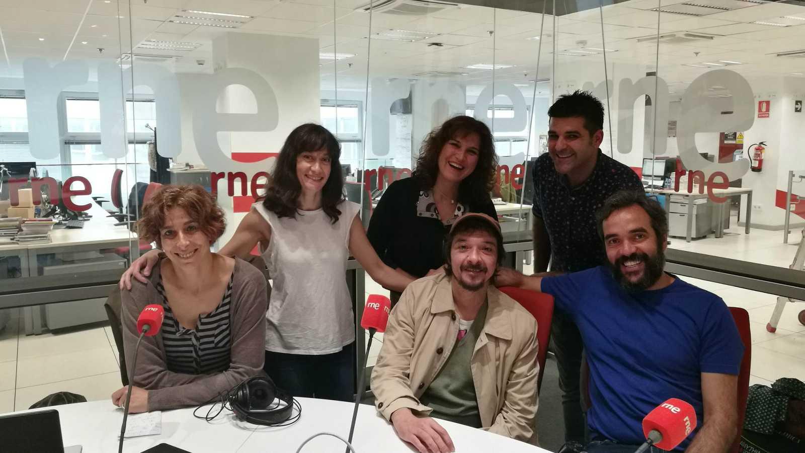 La sala - Nos emocionamos con los seis actores de 'La ternura', de Alfredo Sanzol - 08/06/18 - Escuchar ahora
